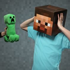 Minecraft Creeper Plush With Sound - Take My Paycheck | The coolest gadgets, electronics, geeky stuff, and more! Shut up and take my money!