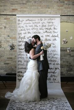 24 backdrop ideas for ceremony reception and more 7