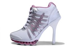 390fb74a2b 2013 Nike Air Max 09 High Heels White Pink.....OMG! Can't wait for them to  arrive!
