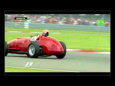 Fernando Alonso in the Ferrari 375 F1 of José Froilán González - YouTube