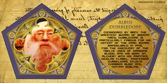 chocolate frog cards dumbledore - Google Search