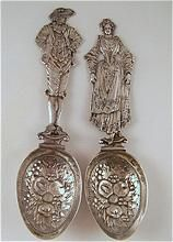 Silver Wedding Spoons circa 1820