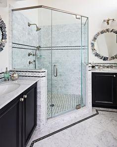 22 Stunning Corner Showers (Photo Gallery) - Page 2 of 2 - Insider Digest