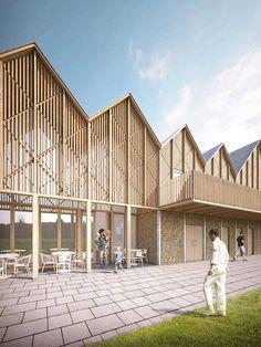 Timber Architecture, Architecture Company, Public Architecture, Industrial Architecture, Architecture Visualization, Education Architecture, Commercial Architecture, Concept Architecture, School Architecture