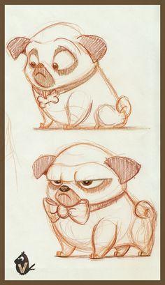 Pug Studies_02