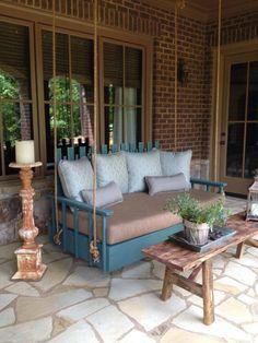 unique porch swing