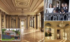 Danish officials have shared pictures of the stunning Amalienborg Palace in Copenhagen, where Princess Mary, Crown Prince Frederik and their four children call home.
