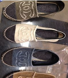 Chanel espadrille flats...these will be my spring shoes!