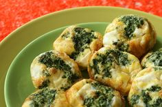 Spinach and Feta Frittatas