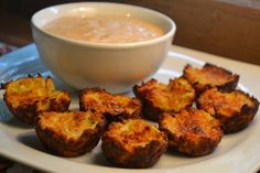 Zucchini Tots - a way healthier alternative to tater tots, and much tastier too!!