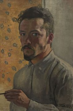 Self-Portrait - Alexandre Blanchet 1904 Impressionism, Photo, Painter, Self Portrait, Painting, Art, Impressionism Art