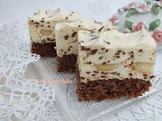 Sweet Desserts, Sweet Recipes, Cake Recipes, Dessert Recipes, Tiramisu, Cake Bars, Hungarian Recipes, Cake Cookies, Cake Decorating