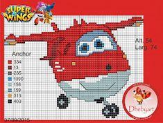 Dhebyart: Gráfico Jett - Super Wings
