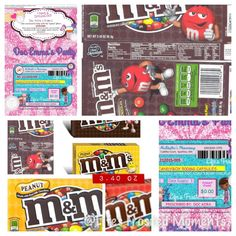 M&M's Snack Box - Doc McStuffins Inspired Personalized Favor Labels Download —Printable Digital File by LifesFrostedMoments on Etsy