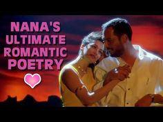 Valentine's Day Special: The most famous Nana Patekar dialogue. The ultimate best romantic poetry on Bollywood screen. Valentine Day Special, Romantic Poetry, Hindi Movies, It Cast, English, Songs, Celebrities, Music, Youtube