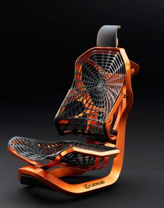 "rocketumbl: ""LEXUS Kinetic Seat Concept """