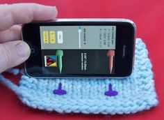 iPhone Apps For Knitters thanks @Nicki Champion this is awesome!  you'll have to come by and check out my new (first real) knitting project soon, a baby sweater :)