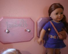 American girl inspired decal by AMvinyl on Etsy