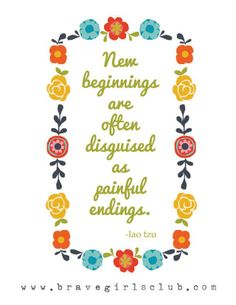 New beginnings are often disguised as painful endings- Losing My Dream House Again