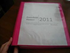 some great ideas on household binders