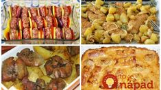 Archívy Recepty - Page 7 of 787 - To je nápad! Pasta Noodles, Meat Recipes, Mashed Potatoes, Mozzarella, Sausage, Pork, Pizza, Chicken, Ethnic Recipes