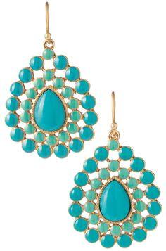 Charlize Teardrop Earrings perfect summer earrings!