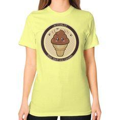 THIS ISN'T Ice Cream Unisex T-Shirt (on woman)