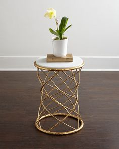 Serenity Side Table at Neiman Marcus.
