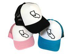 0e05064ad1d I love California kids trucker hat. I heart Cali baby hat. Infant and  toddler
