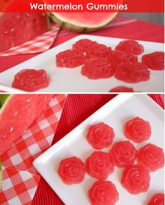 23 Clever DIY Christmas Decoration Ideas By Crafty Panda Watermelon Recipes, Fruit Recipes, Candy Recipes, Snack Recipes, Detox Recipes, Dehydrated Watermelon, Gelatin Recipes, Dehydrated Food, Homemade Gummies