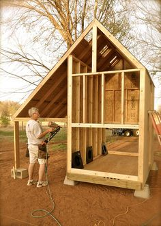 Hubby Builds A Chicken Coop by Catcher In My Eye, via Flickr