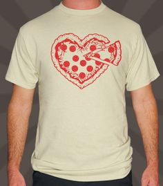 I've got some deep dish feelings for you.  - Professionally printed silkscreen. - 100% cotton tee (heathers poly-cotton). - Ships within 2 business days. - Designed and printed in the USA.