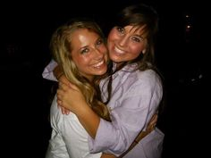 The sorority sister hug. TSM.