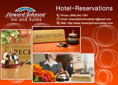 Howard Johnson motel & Suites are supplying reservation facility. Decide upon your possess favourite room and experience. https://goo.gl/XKfZYq