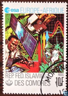 Postage Stamps - Comoros [COM] - Europafrique Comoros Islands, Stamp Collecting, Postage Stamps, Comic Books, Stamps, Comic Book, Comics, Comic