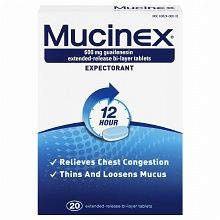 Mucinex plain not DM helps to get you pregnant quicker