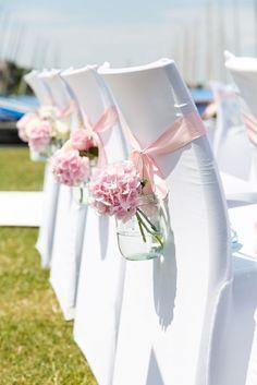 Wedding small ceremony chairs 37 Ideas for 2019 Wedding Reception Backdrop, Wedding Favors, Wedding Ceremony, Wedding Chair Decorations, Wedding Chairs, Baby Breath Flower Crown, Bridesmaid Luncheon, Ceremony Seating, Dream Wedding