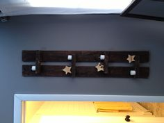 Shelf made from pallets