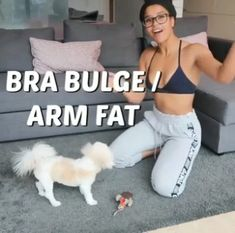 Get Rid of Bra Bulge & Armpit Fat with These 5 Easy Exercises Get Rid of Bra Bulge & Armpit Fat with These 5 Easy Exercises – health-fitness – 30 Days Workout Challenge Fitness Workouts, Sport Fitness, Body Fitness, Easy Workouts, Physical Fitness, At Home Workouts, Health Fitness, Cardio Training, Weight Training