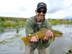 Great day for a brown trout!