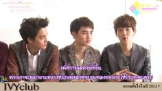 Ivy Club Photoshoot BTS with EXO-K & Yujeong 121127 [Tamfeels]