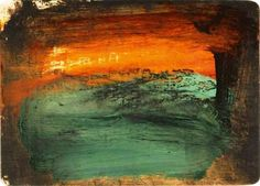 Art Gallery: Howard Hodgkin - Time and Place Monet To Matisse, Howard Hodgkin, Summer Art Projects, Glasgow School Of Art, National Portrait Gallery, Museum Of Fine Arts, Figure Painting, Art Google, Landscape Paintings