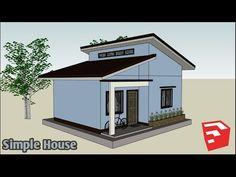 ARKIX3D - YouTube Modern House Floor Plans, Tiny House Plans, Bungalow House Design, Small House Design, Kerala House Design, Kerala Houses, Living Room Kitchen, Simple House, Gazebo