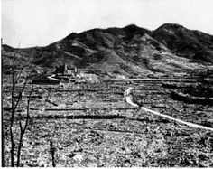 World War I and World War II Related Images: Aftermath of Nagasaki bombing. #ww2 #atomicbomb #nagasaki