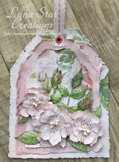Wild Roses Tag