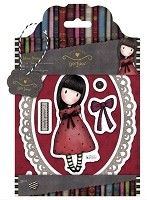 Do Crafts - Simply Gorjuss - Urban Cling Mounted Rubber Stamp - The Black Star
