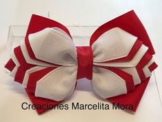 Diy Lace Ribbon Flowers, Diy Ribbon, Ribbon Crafts, Ribbon Bows, Fabric Flowers, Making Hair Bows, Diy Hair Bows, Bow Hair Clips, Sailor Outfits
