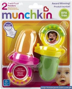 This thing is awesome! Bella LOVES HERS! It's a fresh food feeder by Munchkin, you put pieces of fruit/veggies or ice cubes- great for teething.no choking hazard! I've put frozen banana slices in it & she just gums away at it! Baby Teething Symptoms, Teething Gel, Teething Remedies, Fresh Food Feeder, Banana Baby Food, Baby Co, Banana Slice, Home Baking, Frozen Banana