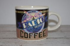 Radio Brand Coffee Mug~Archives Coffees of Yesteryear ~ By Westwood ~1999
