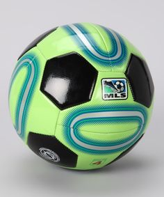 Glow in the dark soccer ball!
